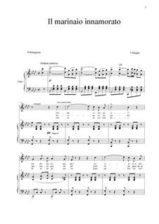 Il marinaio innamorato: Para vocais e piano by Vincenzo de Meglio