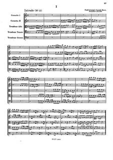 Fünfstimmige blasende Music: Fünfstimmige blasende Music by Johann Christoph Pezel