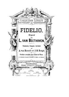 Complete Opera: Partitura de piano com partes de vocal by Ludwig van Beethoven