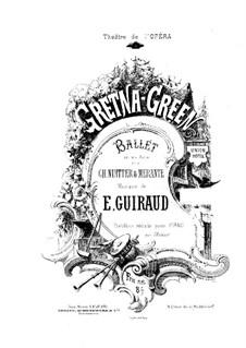 Gretna-Green: arranjo para piano by Ernest Guiraud