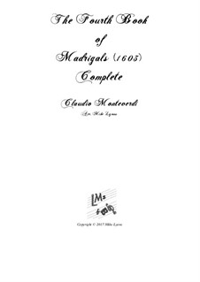 Book 4 (a cinque voci), SV 75–93: Arrangement for quintet instruments by Claudio Monteverdi