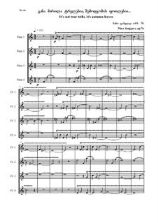 It's not true trills, it's autumn leaves, Op.76: It's not true trills, it's autumn leaves by Nino Janjgava