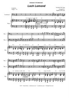 Loch Lomond: Trombone duet by folklore