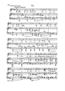 No.6  In the Rhine, in the Sacred Stream: Para vocais e piano by Robert Schumann