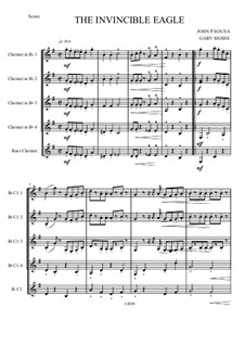 Hands Across the Sea: For quintet clarinets by John Philip Sousa