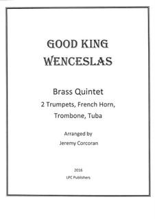 Good King Wenceslas: Para quinteto de metais by folklore