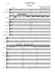 Alepriste, Op.79: Alepriste by Nino Janjgava
