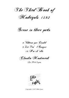 Book 3 (a cinque voci), SV 60–74: Scena 1. Arrangement for quintet instruments by Claudio Monteverdi