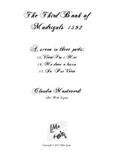 Book 3 (a cinque voci), SV 60–74: Scena 2. Arrangement for quintet instruments by Claudio Monteverdi