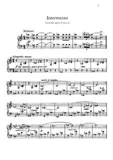 Goyescas: Intermezzo, for piano by Enrique Granados