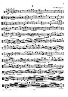 Fifteen Etudes for Viola, Op.116: Fifteen Etudes for Viola by Hans Sitt