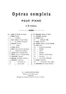 Complete Opera: arranjo para piano by Giuseppe Verdi