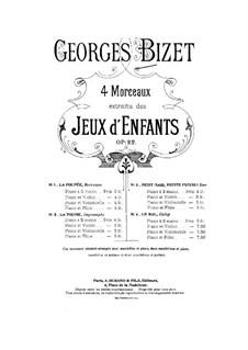 No.3 La poupée: para violino by Georges Bizet