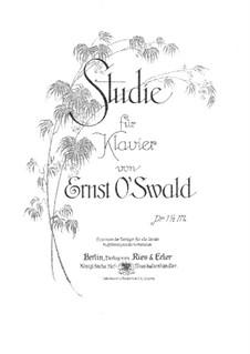Etude for Piano: Estudo para piano by Hermann Erler