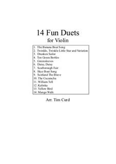 14 Fun Duets: para violino by folklore