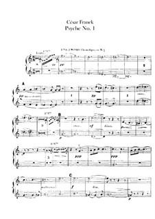 Psyché, M.47: Partes by César Franck