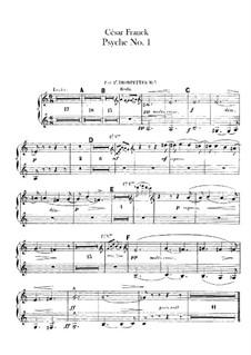 Psyché, M.47: Trumpets and Cornet à Pistons parts by César Franck