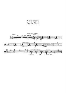 Psyché, M.47: parte Timbales by César Franck