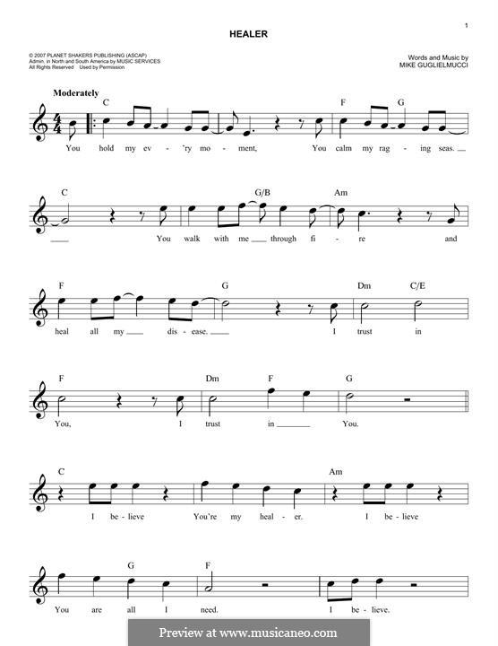 Healer: melodia by Mike Guglielmucci