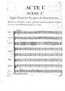 Echo et Narcisse (Echo and Narcissus): ato I by Christoph Willibald Gluck