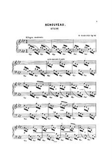 Renouveau, Op.82: Renouveau by Benjamin Godard