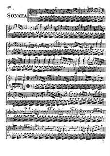 Sonata for Harpsichord in F Major: Sonata for Harpsichord in F Major by Philip Hayes