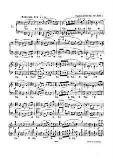 Twenty Preludes, Op.150: Twenty Preludes by Stephen Heller