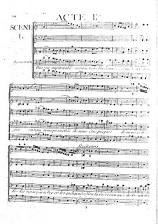 Iphigenia in Aulis, Wq.40: ato I by Christoph Willibald Gluck