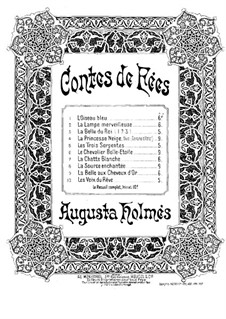 Contes de fées: Contes de fées by Augusta Mary Anne Holmès