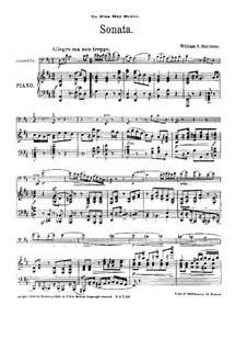 Sonata for Cello and Piano in D Major: Sonata for Cello and Piano in D Major by William Yeates Hurlstone