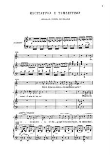 Fragments: Recitativo e terzettino by Giuseppe Verdi