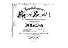 Requiem 'Missa pro defunctis', Op.11: Partitura completa by Leopold I Habsburg