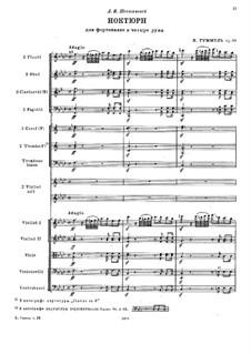 Nocturne in F Major for Orchestra, Op.99: Nocturne in F Major for Orchestra by Johann Nepomuk Hummel