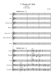 Fragments: Scena ed Aria Conte by Giuseppe Verdi