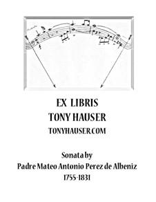 Sonata in D Major 'Zapateado': Para Guitarra by Mateo Albéniz