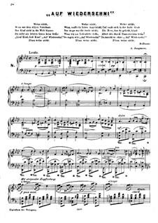 Auf Wiedersehn: Auf Wiedersehn by Albert Jungmann