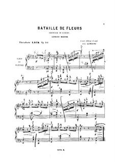 Bataille de fleurs, Op.101: Bataille de fleurs by Theodore Lack