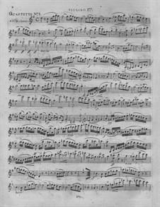 Three String Quartets: Três Quartetos de Cordas by Nikolaus Von Krufft