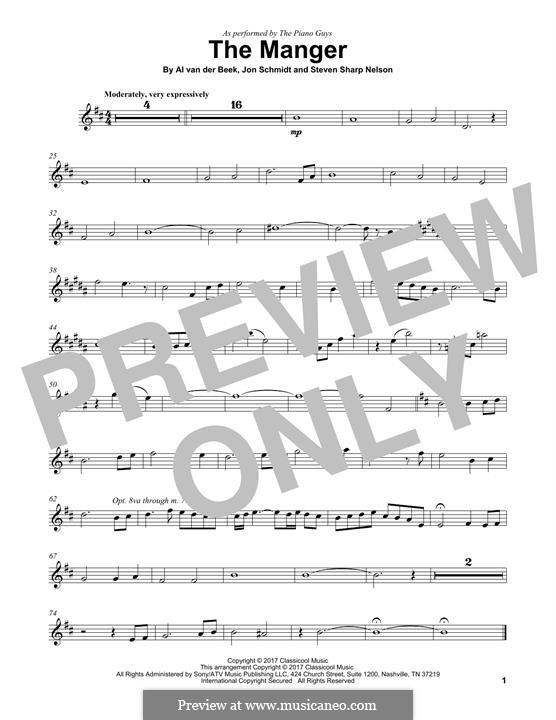 The Manger (The Piano Guys): para violino by Jon Schmidt, Al van der Beek, Steven Sharp Nelson