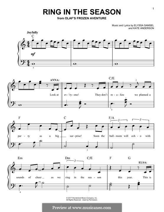 Ring in the Season: Para Piano by Kate Anderson, Elyssa Samsel