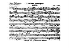 Admiral Farragut: Cornet solo part by Frank Hoyt Losey