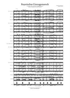 Bayerischer Einzugsmarsch: For symphonic band by musikschmie.de