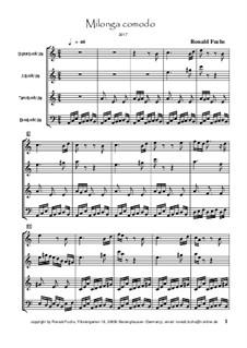 Milonga comodo: Milonga comodo by Ronald Fuchs