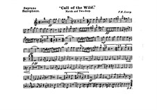 Call of the Wild: Soprano saxophone part by Frank Hoyt Losey