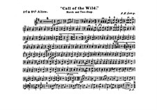 Call of the Wild: Alto horns I, II parts by Frank Hoyt Losey