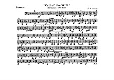 Call of the Wild: Tuba, partes by Frank Hoyt Losey