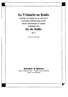 La villanelle du diable, Op.9: La villanelle du diable by Charles Martin Loeffler
