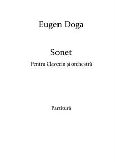 Sonnet: For ensemble instruments by Eugen Doga