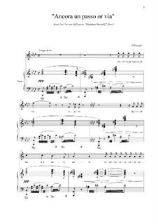 Madama Butterfly : Ancora un passo or via by Giacomo Puccini