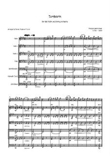 Tambourin in F Major: For violin and strings by François Joseph Gossec